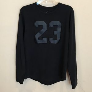 4edfa616a86c Jordan - Black long Sleeve Top M
